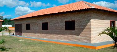 Construção de casa para colono, caseiro, funcionario, casa sede