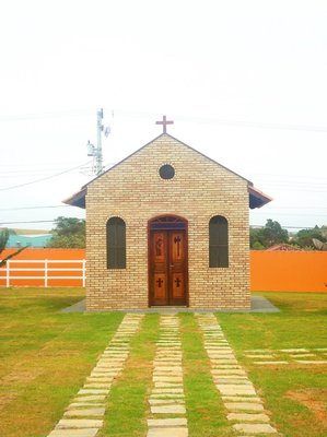 Capela para Fazenda, Haras com capacidade para 40 pessoas