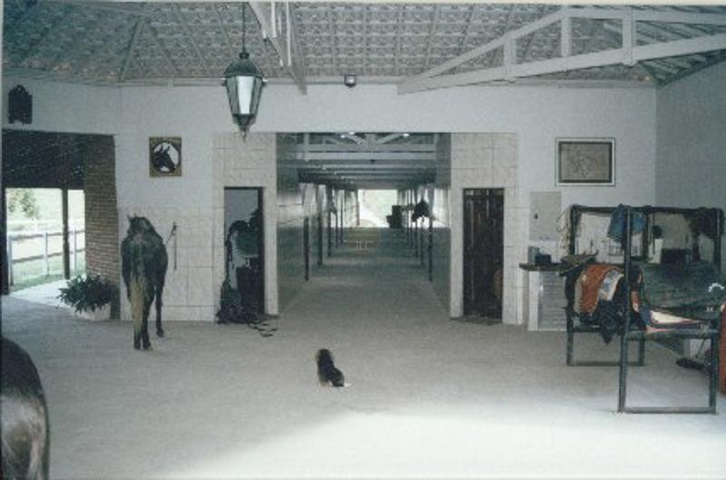 Baia - Area para manejo de cavalos